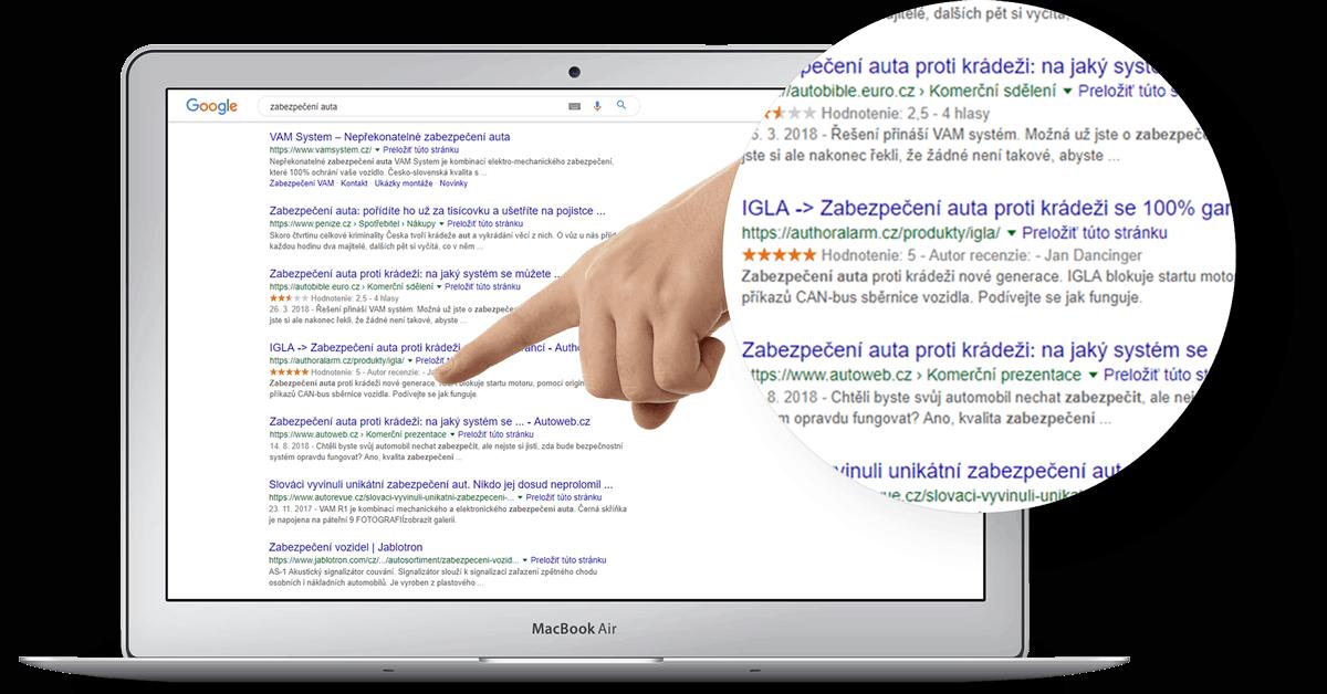 Optimalizácia pre vyhľadávače