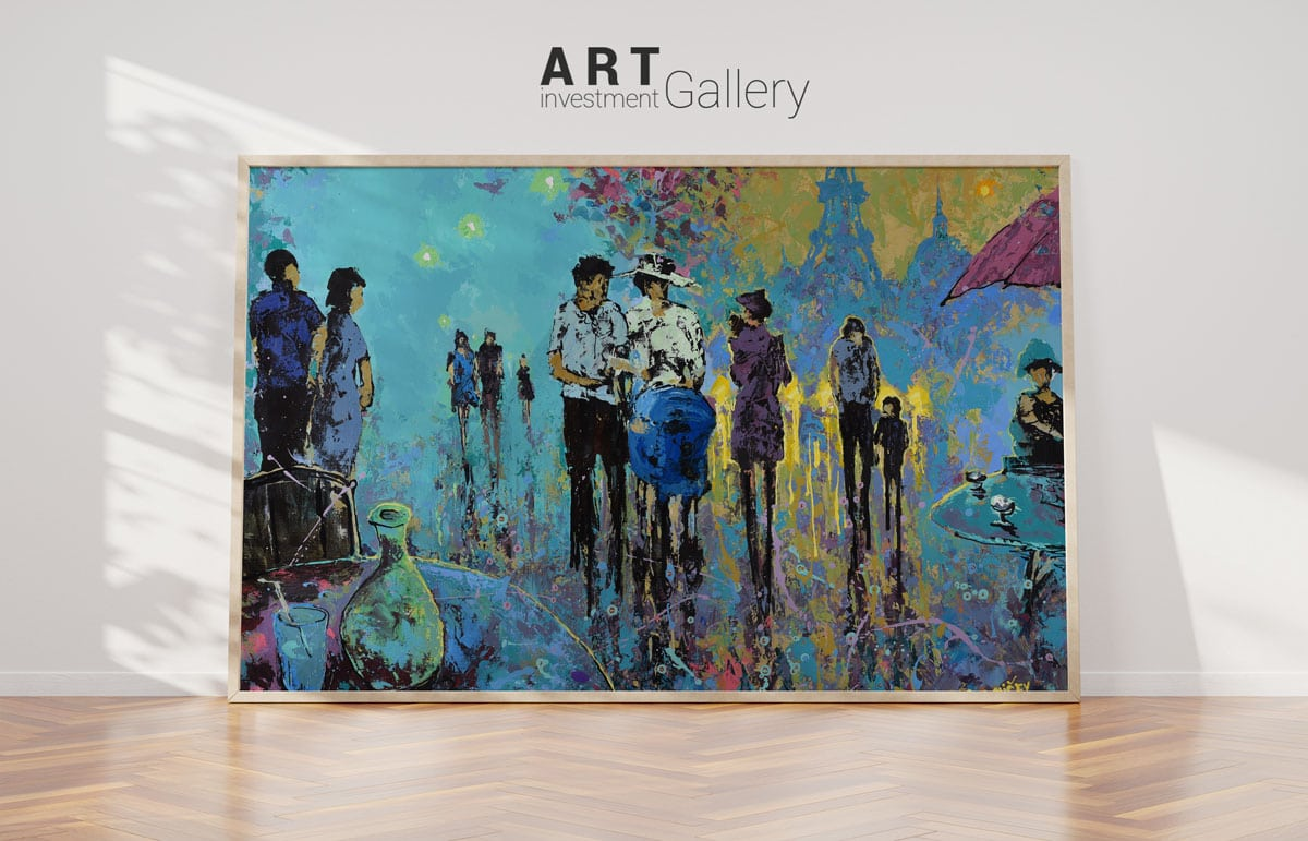 tvorba loga pre galériu