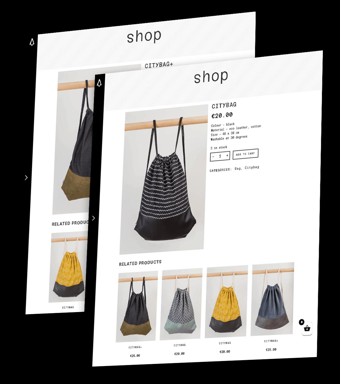 Zobrazenie produktu na e-shope