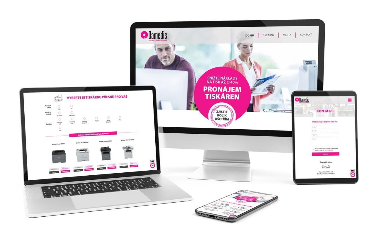 B2B marketing webdesign