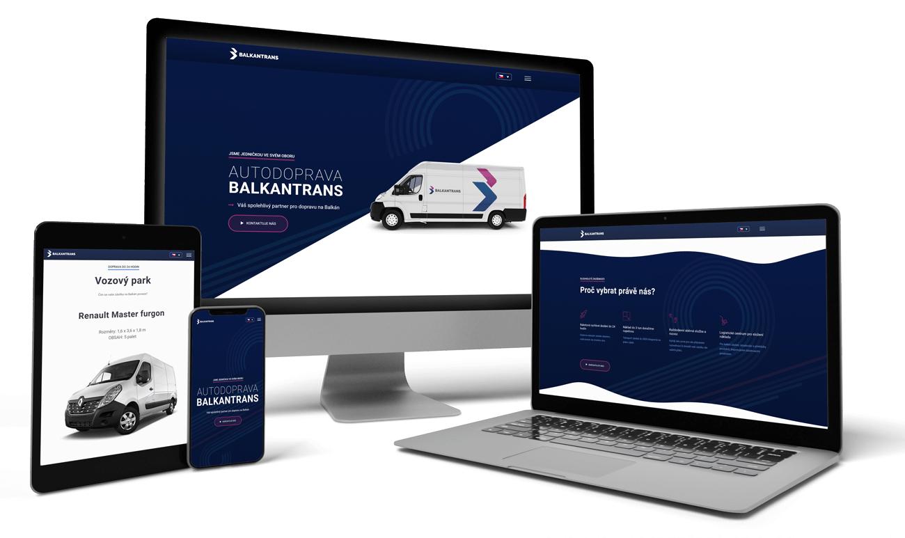 Redesign webovej prezentácie