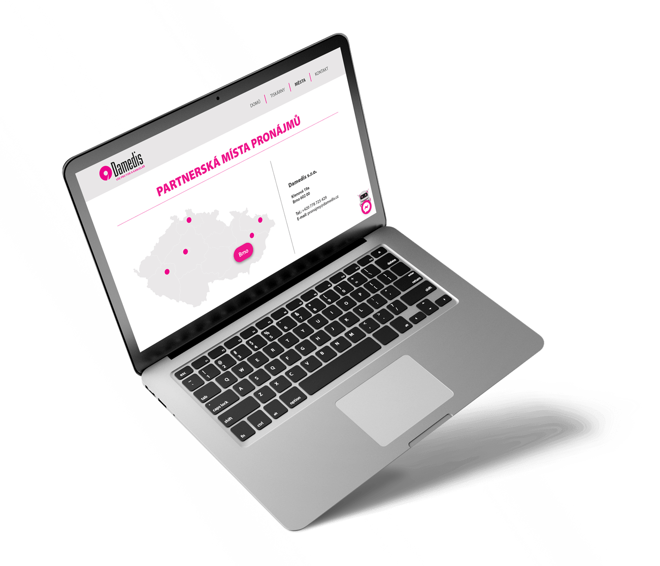 B2B marketingový výber lokality