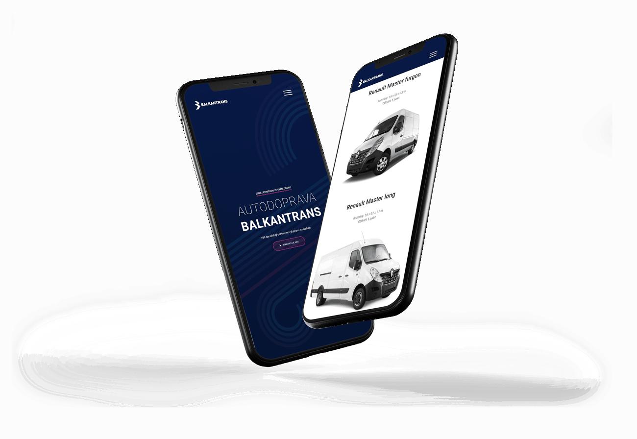 Redesign mobilná verzia